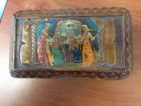 Шкатулка деревянная с мультипликацией