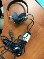 Микрофон с наушниками ТА-56М к радиостанции 2