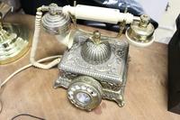 Старинный Антикварный Телефон. Германия. Клеймо M